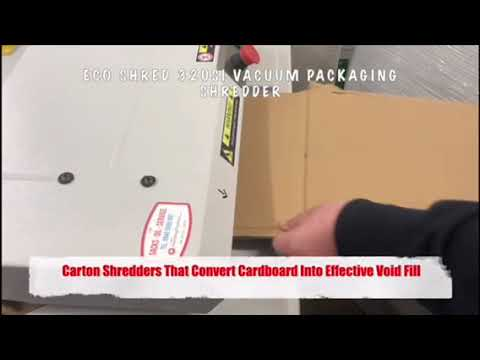 Video of the EcoShred 320Si (Vacuum Ready) Shredder