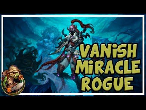 Hearthstone - Vanish Miracle Rogue (Season 43)