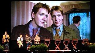 Джеймс и Оливер Фелпс, Oliver Phelps 'George Weasley' Harry Potter Tribute Interview at Universal Orlando