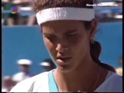 Manuela Maleeva vs Mary Jo Fernandez Us Open 1990