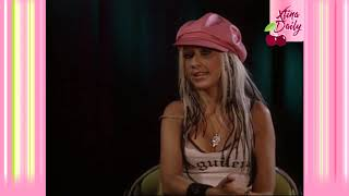 Christina Aguilera Talks Dirrty and Eminem