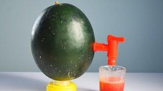 Simple DIY Watermelon Juice