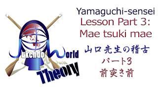 Yamaguchi Sensei Lesson 3: Mae Tsuki Mae
