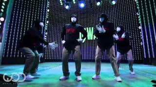 Jabbawockeez   World of Dance Live   FRONTROW   Citywalk 2014 #WODLIVE