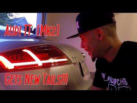 How To Install New Tail Lights On Audi TT (mk2) (8j)