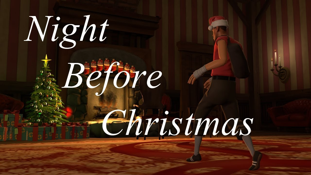 'Twas The Night Before Christmas And Team Fortress Was Stirring…