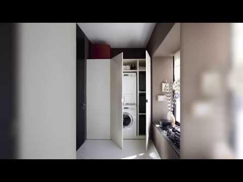 burgbad rc40 Waschmaschinenschrank Montage