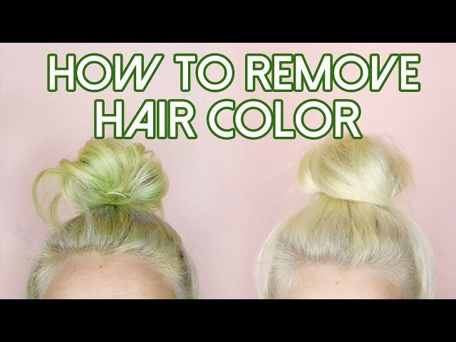 How To Remove Hair Color | Mp3FordFiesta.com