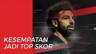 Cetak Gol saat Laga Lawan West Ham United, M Salah Dekati Top Scorer Sementara Liga Inggris