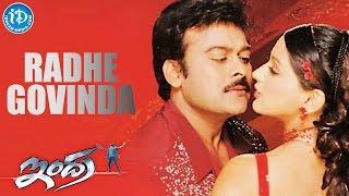 Indra Movie - Radhe Govinda Video Song || Chiranjeevi || Sonali Bendre || Mani Sharma