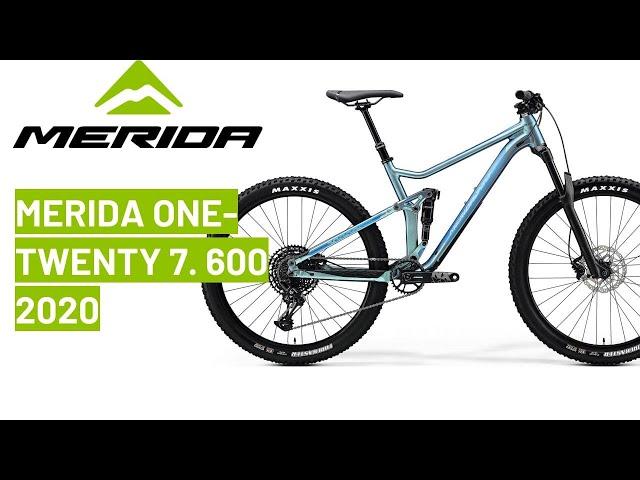 Видео Велосипед Merida One-Twenty 7.600 silk sparkling blue (blue)