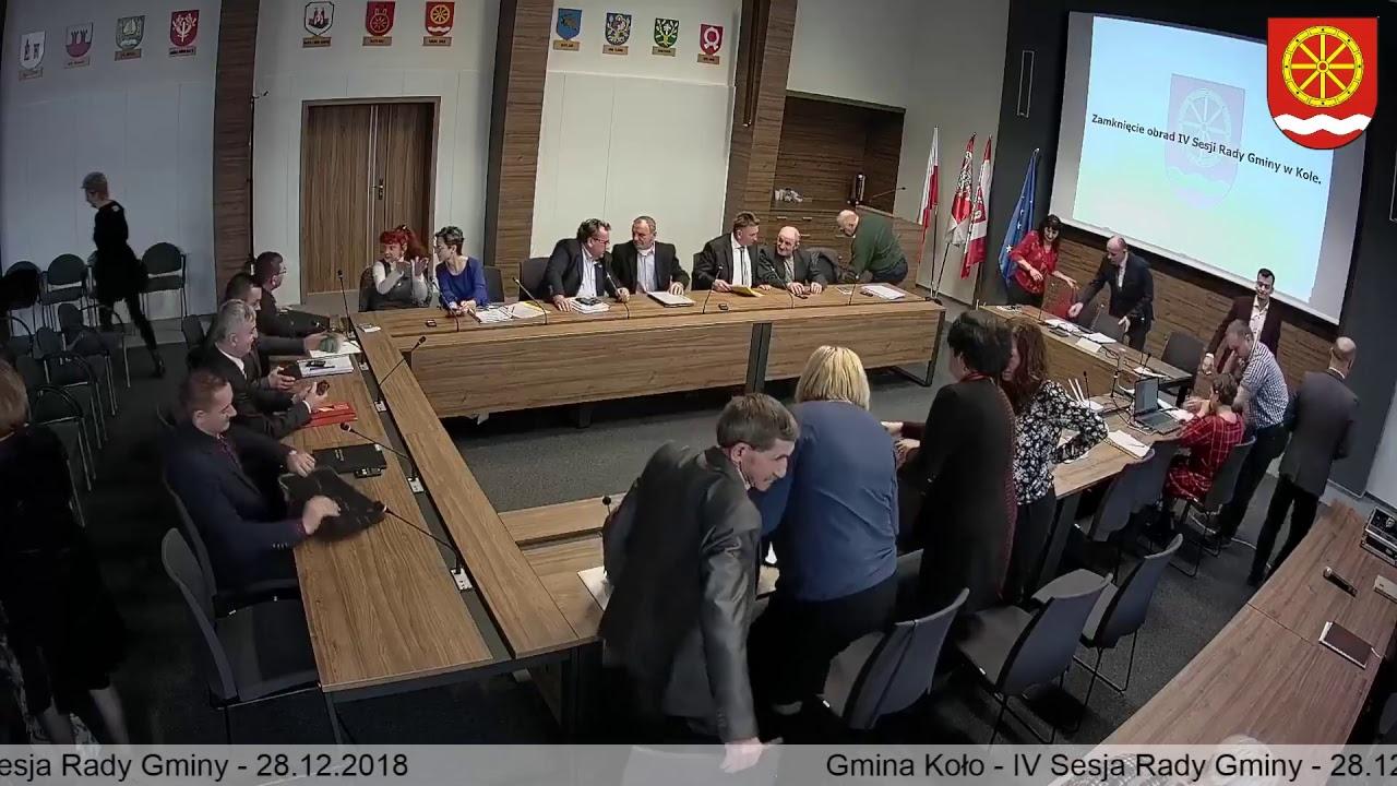 Zdjęcie do IV Sesja Rady Gminy Koło