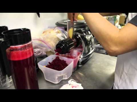 Video Beet Juice from scratch