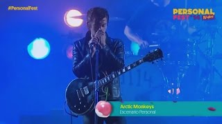 Arctic Monkeys - Teddy Picker / Crying Lightning (Live at Personal Fest)