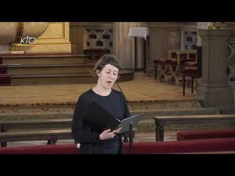 Vêpres du 21 avril 2021 à Saint-Germain-l'Auxerrois