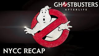GHOSTBUSTERS: AFTERLIFE - New York Comic Con Recap