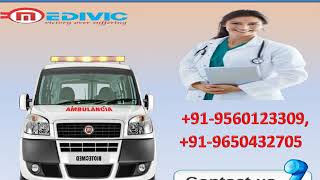 Get Low Fare Road Ambulance Service in Ashok Nagar and Bahu Bazar
