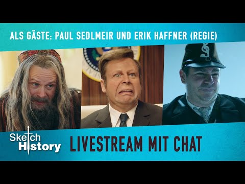 Sketch History Livestream zur ersten neuen Folge 2019 | Sketch History Live