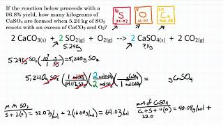 Calculate Percent Yield W/ Ideal Stoichiometry - Practice - 2