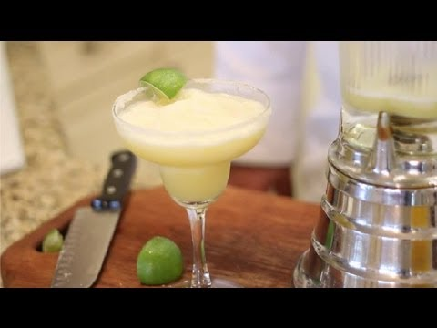 Video How to Make Simple, Virgin Margaritas : Virgin & Non-Alcoholic Drink Recipes