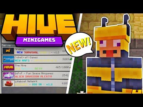 NEU! Der HIVE SERVER ist auf der Switch! Minecraft Bedrock Edition