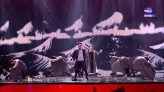 Eurovision 2012 HD - 18 (Turquia/Turkey) Can Bonomo - Love me back