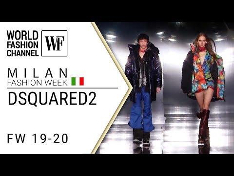Dsquared2 Fall-winter 19-20 Milan mens fashion week