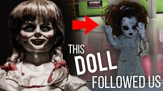 POSSESSED ANNABELLE-LIKE DOLL FOLLOWS ME AROUND! (A FAN SENT ME THIS)