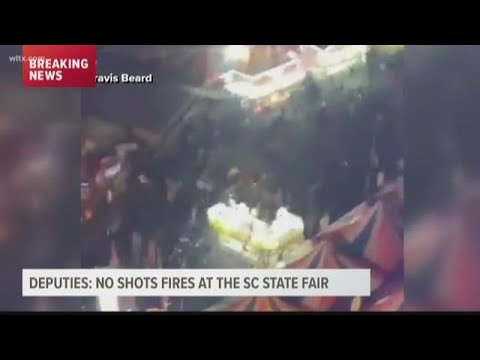 No shots fired at South Carolina State Fair, deputies say