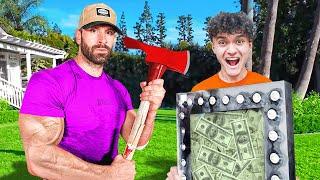 World's Strongest Man vs $10,000 Unbreakable Safe