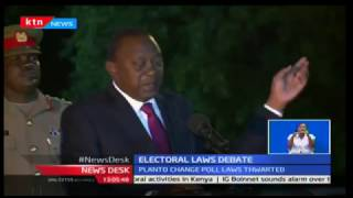Uhuru said it was regrettable the opposition MPs used the house privilege to insult the presidency