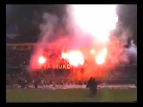"""Kaña ϟ Brava | NAVAL vs UDECH. (Tarde Navalina '07)"" Barra: Kaña Brava • Club: Naval de Talcahuano"