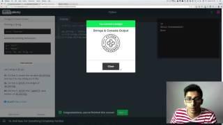 Codecademy - Python: Tutorial #2