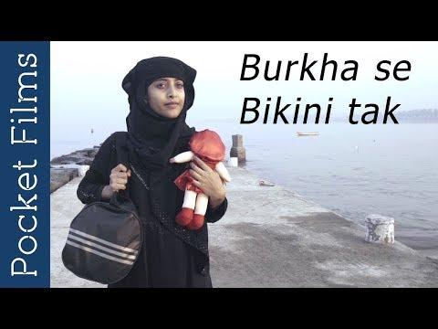 Burkha se Bikini tak - A Hindi Poetic story of a girl lost in a crowded town