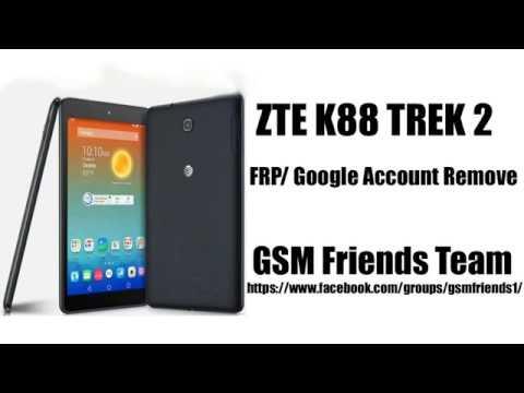 ZTE K81 Grand X View 2 FRP Bypass Android 7 1 1 | ZTE K88 Trek 2 FRP