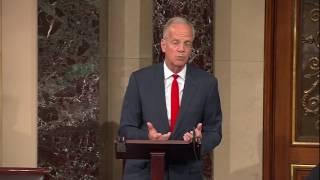 On June 7 2017 longtime Lion Senator Jerry Moran spoke on the
