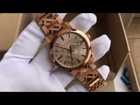 Xship.vn: Burberry BU9039 Rose Gold-Tone Dial Stainless Steel Quartz Ladies Watch