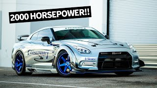 2000hp Nissan GTR: The Craziest Street-Spec R35 Larry Has Ever Seen, From Bulletproof Auto