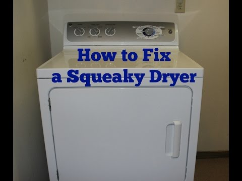 How to fix a squeaky dryer!
