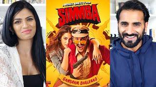 SIMMBA   Ranveer Singh   Sara Ali Khan   Trailer REACTION!!