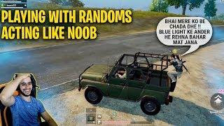😂Funny voice talk with randoms🤣Acting like noob | Rowdy gaming LootChoor highlights