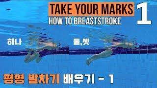 이현진 수영 TYM ) How To Breaststroke  - 1 / 평영 발차기 배우기 / 평영 뜨기