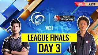 RERUN: [EN] PMWL WEST - League Finals Day 3   PUBG MOBILE World League Season Zero (2020)