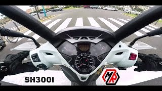 MRvlog#5:Test Drive Honda SH300i - سكوتر SH 300i تجربة قيادة هوندا