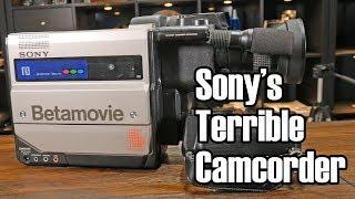 Betamovie: Sony's Terrible (But Ingenious) Camcorder