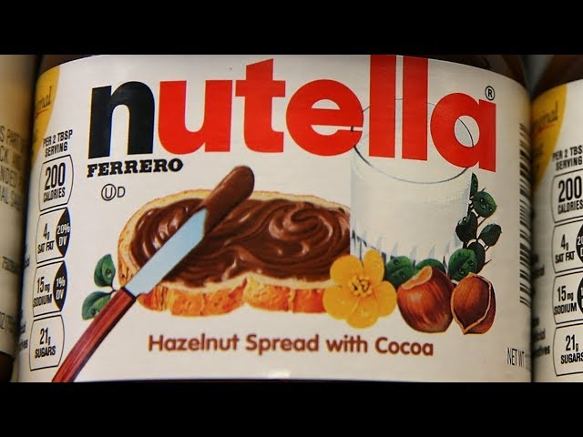 Video Pronunciation of Nutella in English
