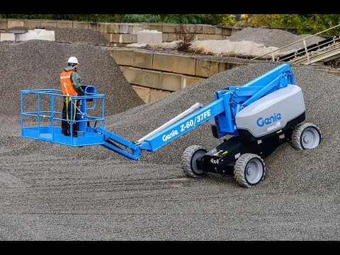 Product Demo: Genie Z™-60/37FE Articulating Boom Lift: Hybrid System - ANSI Mp3