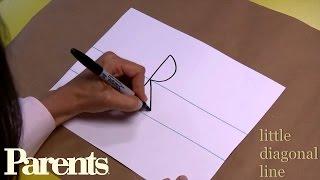 "Teaching Handwriting -- Capital Letters ""P"" Through ""T"" | Parents"