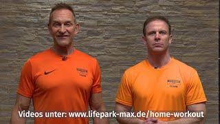 Volker und Markus zu den Home-Workouts