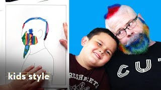 Kids Give Their Grandparents Crazy Hair Makeovers | Kids Style | HiHo Kids